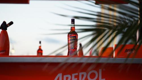 Promotion of Aperol Spritz